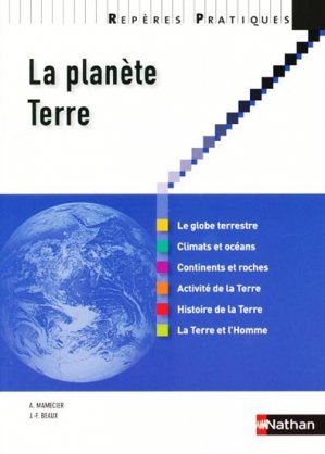 La planète Terre - nathan - 9782091615189 -