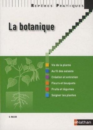 La botanique - nathan - 9782091620480 -