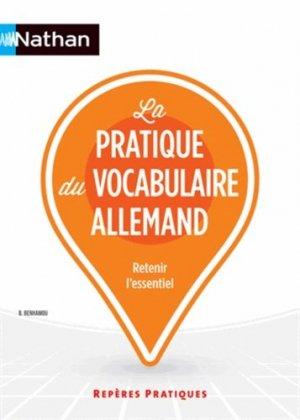 La pratique du vocabulaire allemand - Nathan - 9782091628295 -