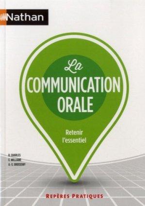 La communication orale - Nathan - 9782091638409 -