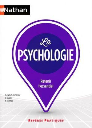 la psychologie 2016 - nathan - 9782091641324 -