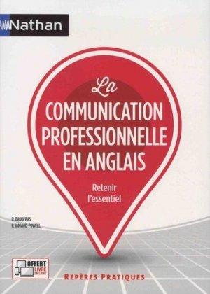 La communication professionnelle en anglais - nathan - 9782091651736 -