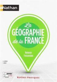 La géographie de la France - Nathan - 9782091653976 -
