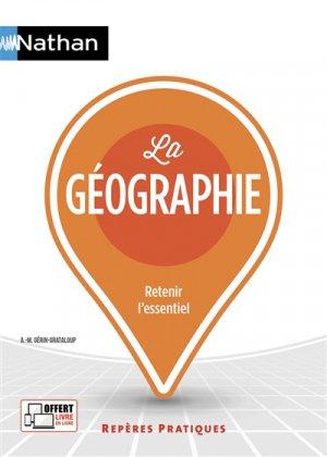 La géographie - Nathan - 9782091654621 -