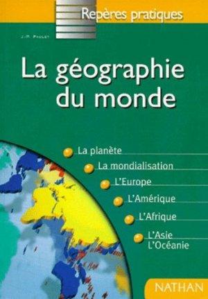 La géographie du monde - nathan - 9782091824321 -