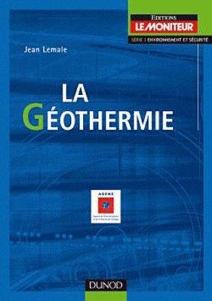 La géothermie - dunod - 9782100572380