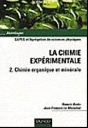 La chimie expérimentale - Tome 2-dunod-9782100582099