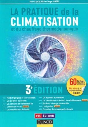La pratique de la climatisation et du chauffage thermodynamique - dunod - 9782100582396 -