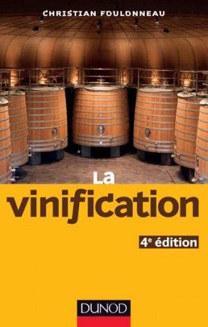 La vinification - dunod - 9782100712540 -