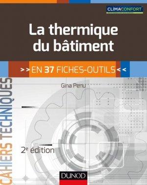La thermique du bâtiment - dunod - 9782100738205 -