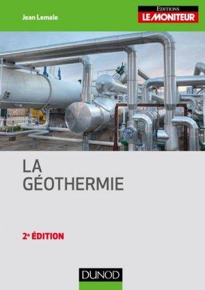 La géothermie - dunod - 9782100743773 -
