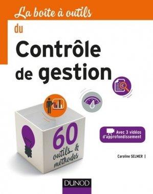 La boîte à outils du contrôle de gestion - Dunod - 9782100755295 -