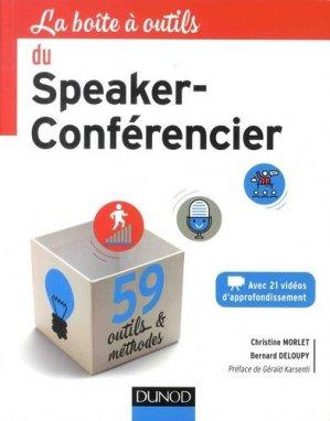 La boîte à outils du speaker-conférencier - Dunod - 9782100776436 -
