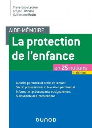La protection de l'enfance en 25 notions - dunod - 9782100788361 -