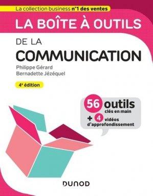 La boîte à outils de la communication - Dunod - 9782100796175 -
