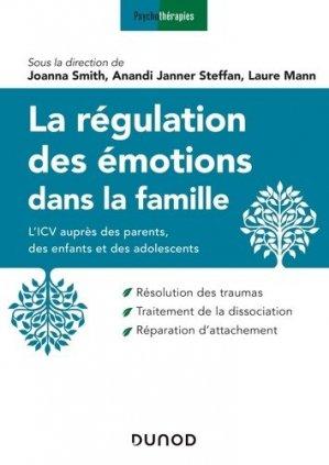La régulation des émotions dans la famille - dunod - 9782100798957 -