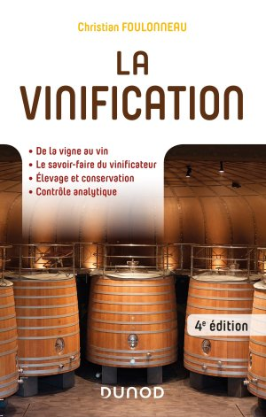 La vinification - dunod - 9782100804085 -