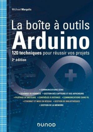 La boîte à outils Arduino - dunod - 9782100807642 -