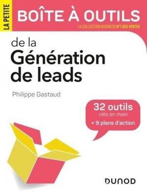 La petite boîte à outils de la génération de leads - Dunod - 9782100813834 -