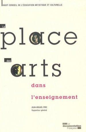 La place des arts dans l'enseignement - La Documentation Française - 9782110079503 -