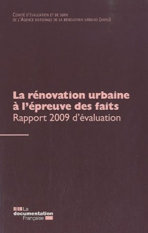 La rénovation urbaine à l'épreuve des faits - la documentation francaise - 9782110081551 -