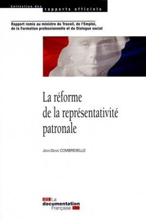 La réforme de la représentativité patronale - La Documentation Française - 9782110096814 -