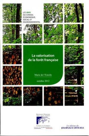 La valorisation de la forêt française - journaux officiels - 9782111209022 -