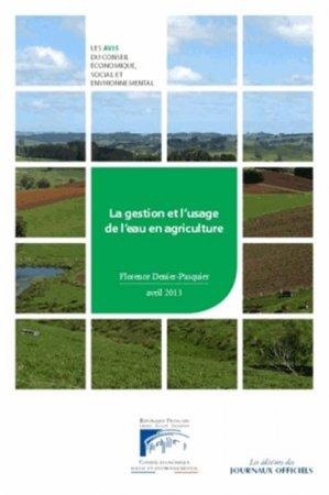 La gestion et l'usage de l'eau en agriculture - journaux officiels - 9782111209152 -