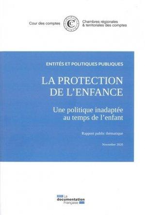 La protection de l'enfance - La Documentation Française - 9782111574090 -