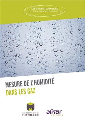 La mesure de l'humidité dans les gaz - afnor - 9782124656103 -