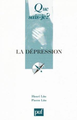 La dépression - puf - presses universitaires de france - 9782130519683 -