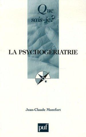 La psychogériatrie - puf - presses universitaires de france - 9782130554080 -