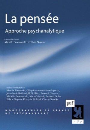La pensée - puf - presses universitaires de france - 9782130620228 -