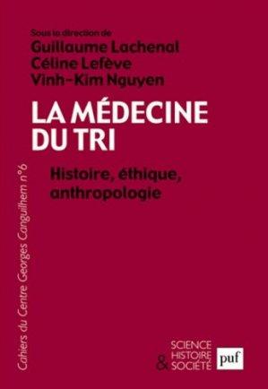 La médecine du tri - puf - presses universitaires de france - 9782130624288 -