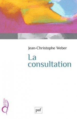 La consultation - puf - presses universitaires de france - 9782130789628 -