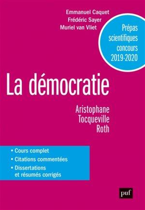La Démocratie - puf - presses universitaires de france - 9782130814955 -