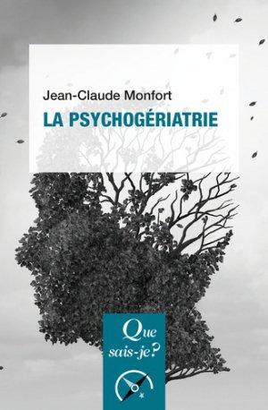 La psychogériatrie - puf - 9782130817277 -