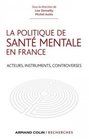 La politique de santé mentale en France - armand colin - 9782200275945 -