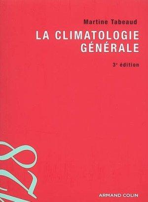 La climatologie générale - armand colin - 9782200354237 -