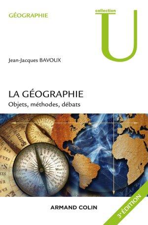 La géographie - armand colin - 9782200611828 -