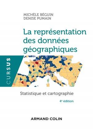 La représentation des données géographiques - armand colin - 9782200617820 -