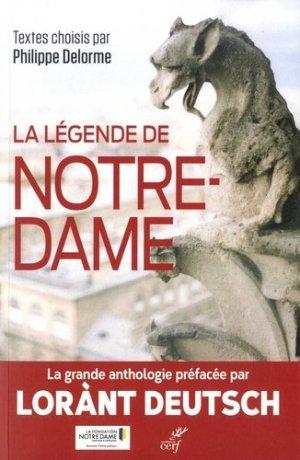 La légende de Notre-Dame - cerf - 9782204135962 - majbook ème édition, majbook 1ère édition, livre ecn major, livre ecn, fiche ecn