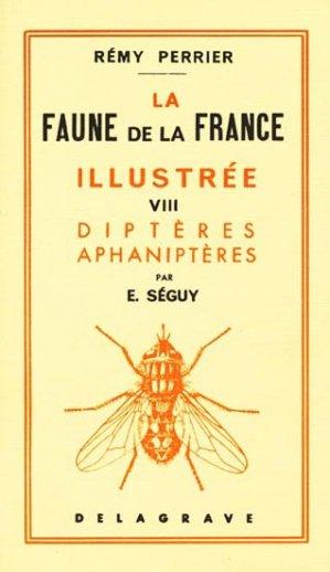 La faune de la France illustrée 8 Diptères Aphaniptères - delagrave - 9782206001579 -
