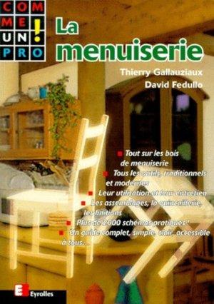 La menuiserie - Eyrolles - 9782212068191 -