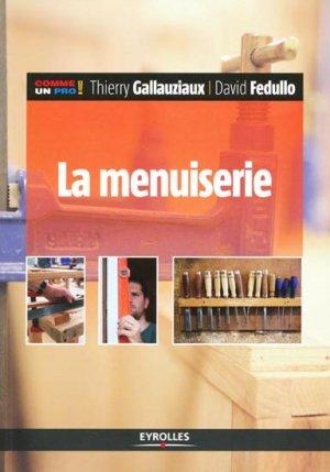 La menuiserie - eyrolles - 9782212132076 -