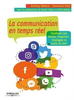 La communication en temps réel - Eyrolles - 9782212567045 -