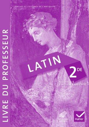 Latin 2de : Livre du professeur - hatier - 9782218980022 -