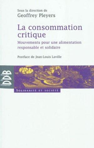 La consommation critique - desclee de brouwer - 9782220061474 -