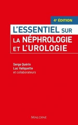 La néphrologie et l'urologie - edisem / maloine - 9782224035990 -