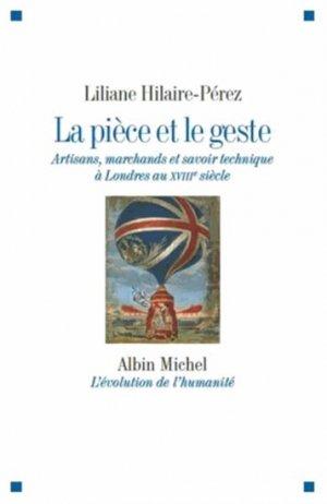 La pièce et le geste - albin michel - 9782226246301 -